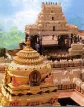 Le temple de Kanaka Durga