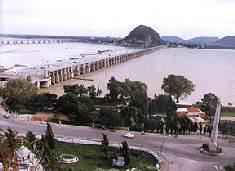 Le barrage Prakasam