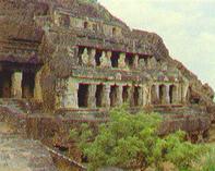 Les temples rupestres d'Undavalli