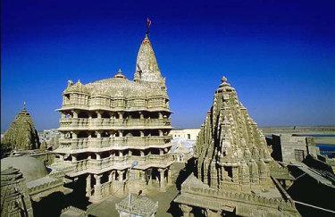Le temple de Dwarka