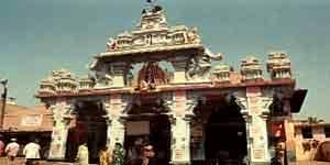 Le temple de Krishna