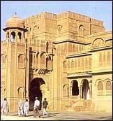 Le palais de Lalgarh