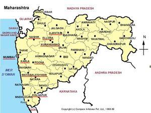 Carte Maharashtra