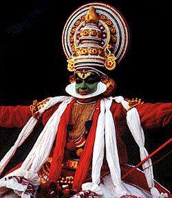 Danseuse de Kathakali