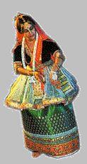 Danseuse de Manipuri