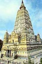 Le temple de Mahabodhi