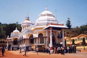 Le temple de Sri Mangesh