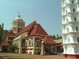 Le temple de Shantadurga