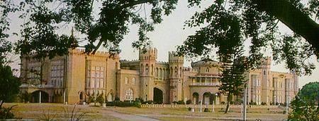 Le palais de Bangalore