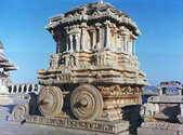 Un chariot du temple de Vithala