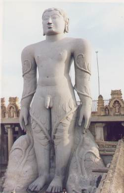 La statue de Gomateshwara