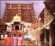 Le temple de Sri Padmanabhaswamy