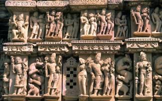 Les temples du secteur Ouest : Parshvanatha