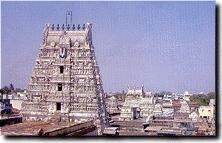 Le temple de Kapaleeswara