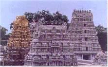 Le temple de Kamakshi Amman
