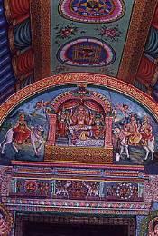 Le temple de Sri Meenakshi