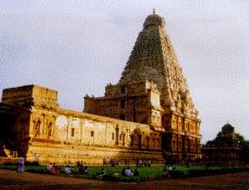 Le temple de Bridhadishwara