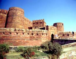 Le fort rouge d'Agra