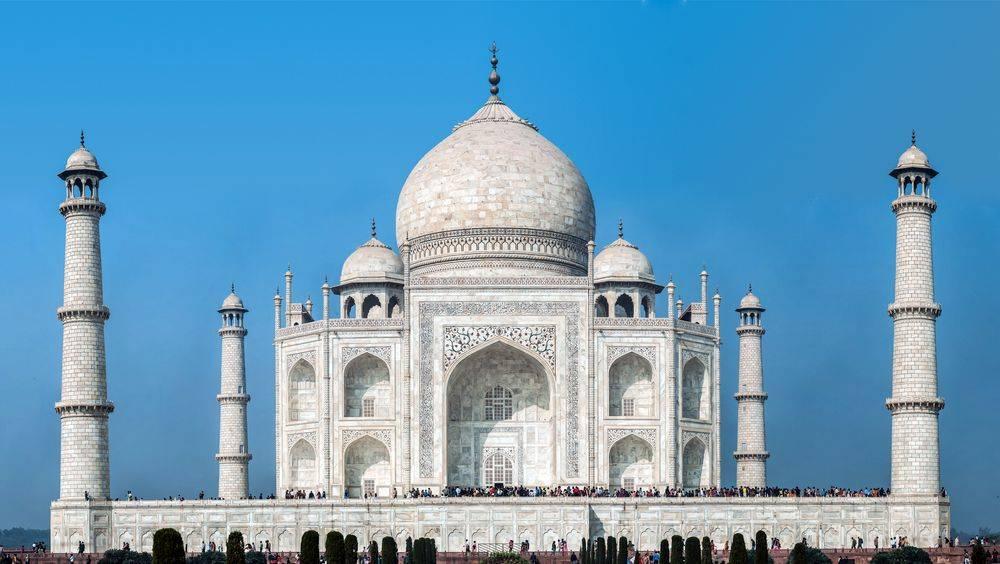 Le Taj Mahal et son dôme
