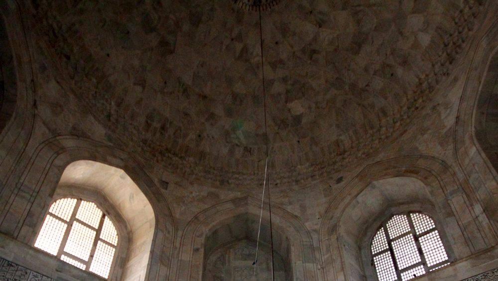 Le dôme intérieur