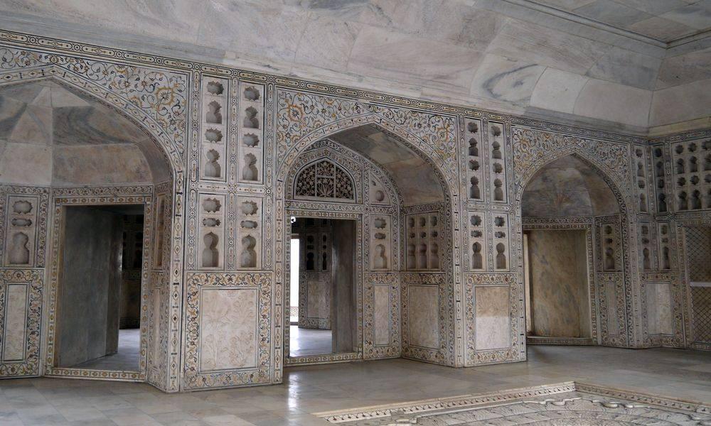 Intérieur Taj Mahal