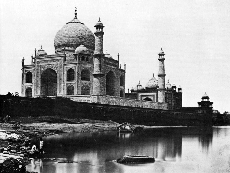 Le Taj Mahal en 1865