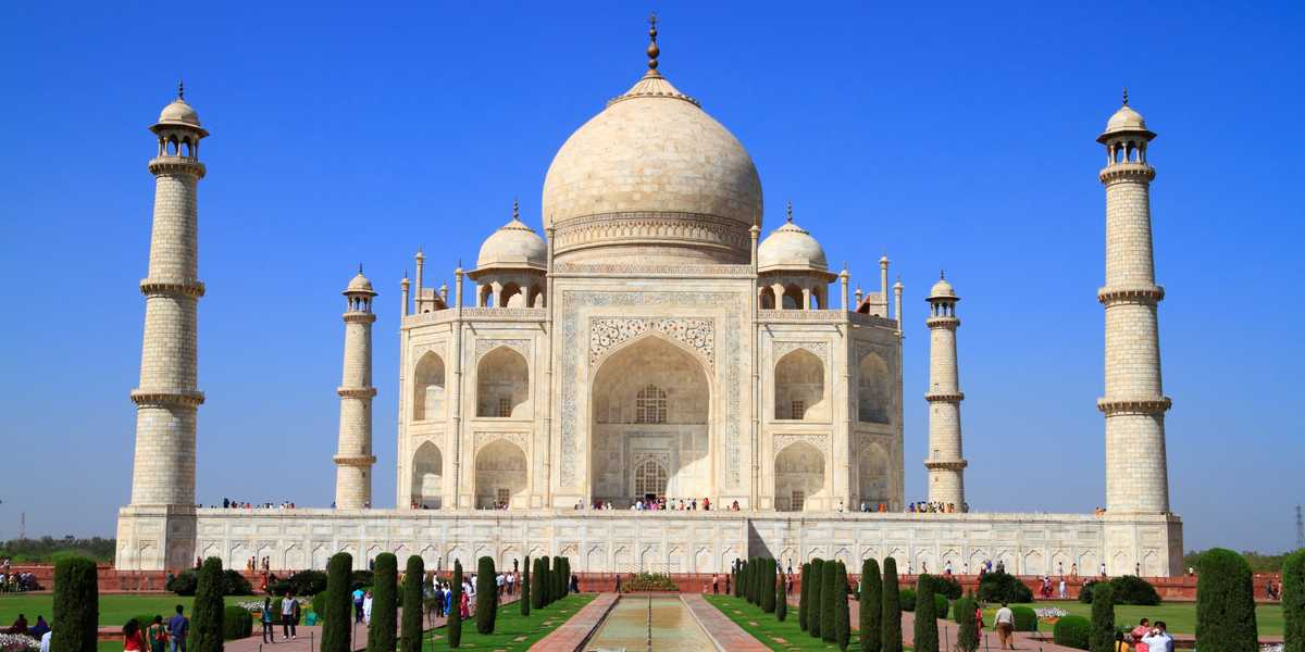 Le mausolée du Taj Mahal
