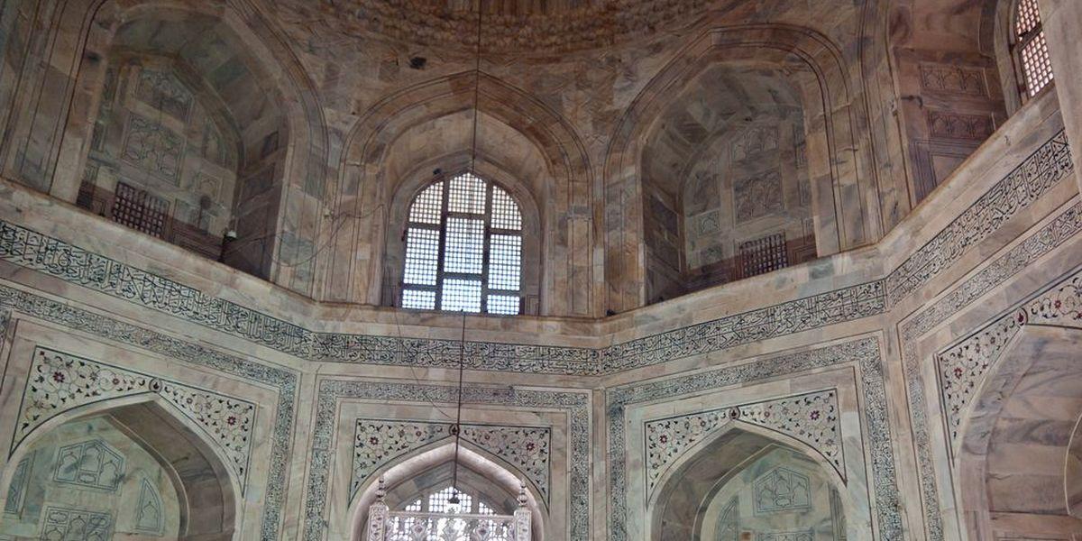 L'intérieur du mausolée