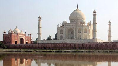 Le Taj Mahal vu du côté Nord
