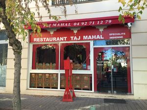 Restaurant 'Le Taj Mahal', à Manosque