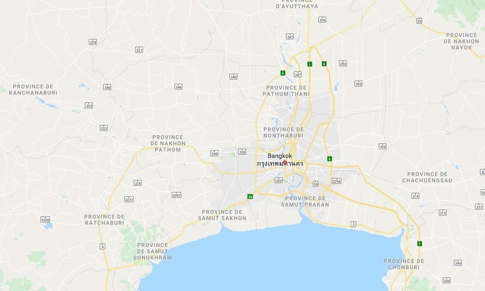 La région de Bangkok