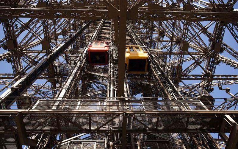 Ascenseur du pilier Ouest