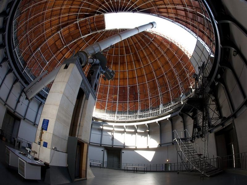Coupole de  l'observatoire de Nice