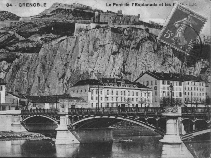 Pont de la Porte de France à Grenoble