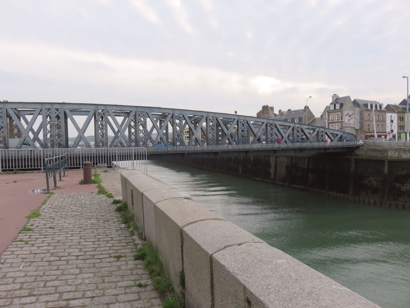Pont tournant de Dieppe