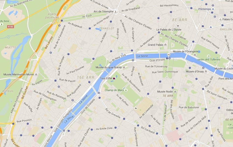 Quartier de la tour Eiffel