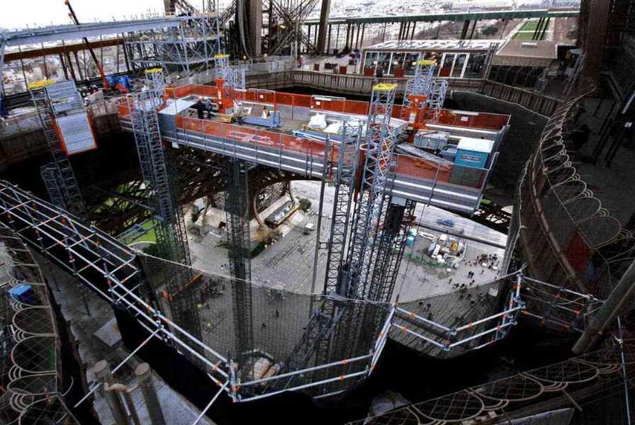 Le chantier de rénovation