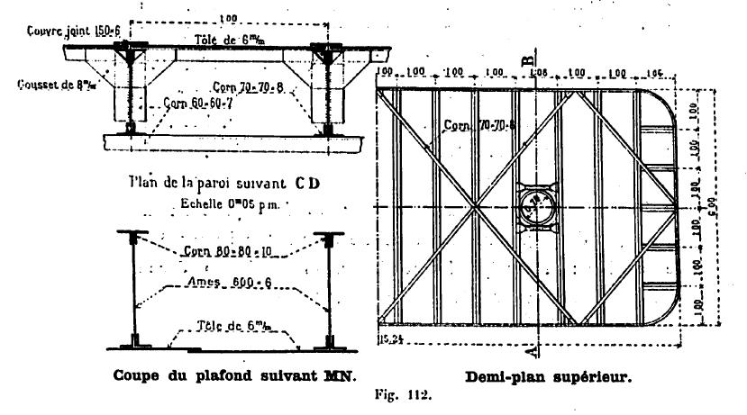 Plan des fouilles de la pile 4
