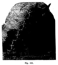 Maquette du pilone de butée