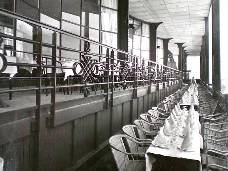 Galerie du premier étage en 1937
