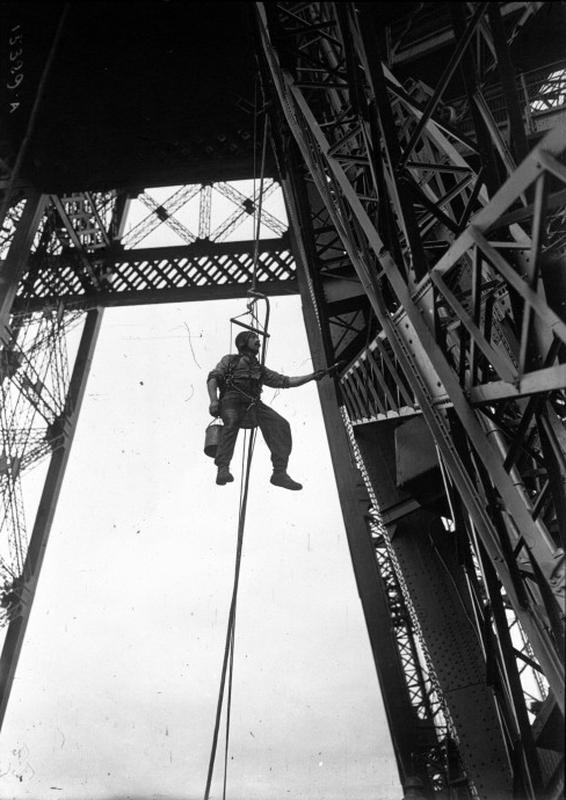Bien-aimé La peinture de la tour Eiffel DJ88