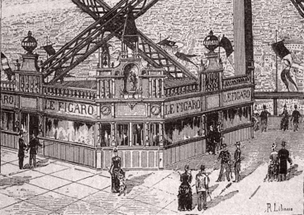 Le pavillon du Figaro