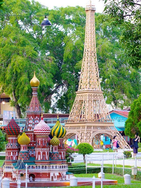 Réplique du parc Mini Siam
