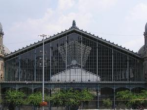 Gare de l'Ouest, à Budapest