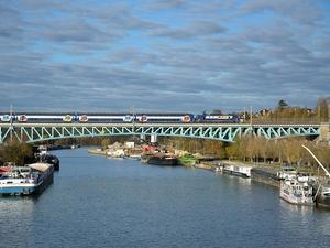 Viaduc de Conflans-Sainte Honorine, Yvelines, France