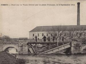 Pont sur la Vesle, à Chassemy