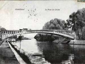 Pont de Clichy, Hauts de Seine, France