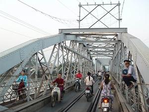 Pont de Rach-Cat, au Viet-Nam