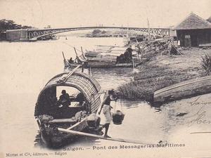Pont des Messageires, au Viet-Nam