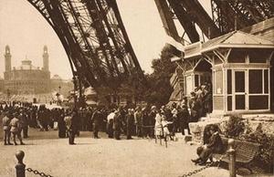 Entrée du public en 1890